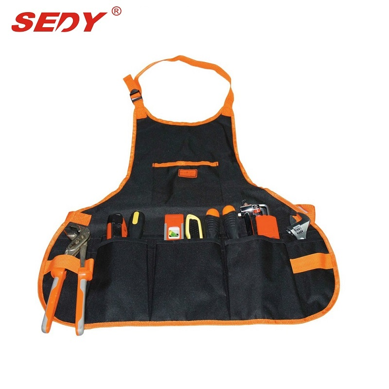 2016 New Electrician 16 POCKET Pouch Electrician tool bags Multifunction Carpenter Contractor Construction repair tool  belt bag
