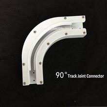 Высокое качество Dooya 90/135 градусов электрический карниз рельс шарнирный кронштейн соединитель для U тип L тип окна трек аксессуары