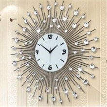 Large fashion creative modern living room decoration art individuality watch mute quartz clock  FREE SHIPPING