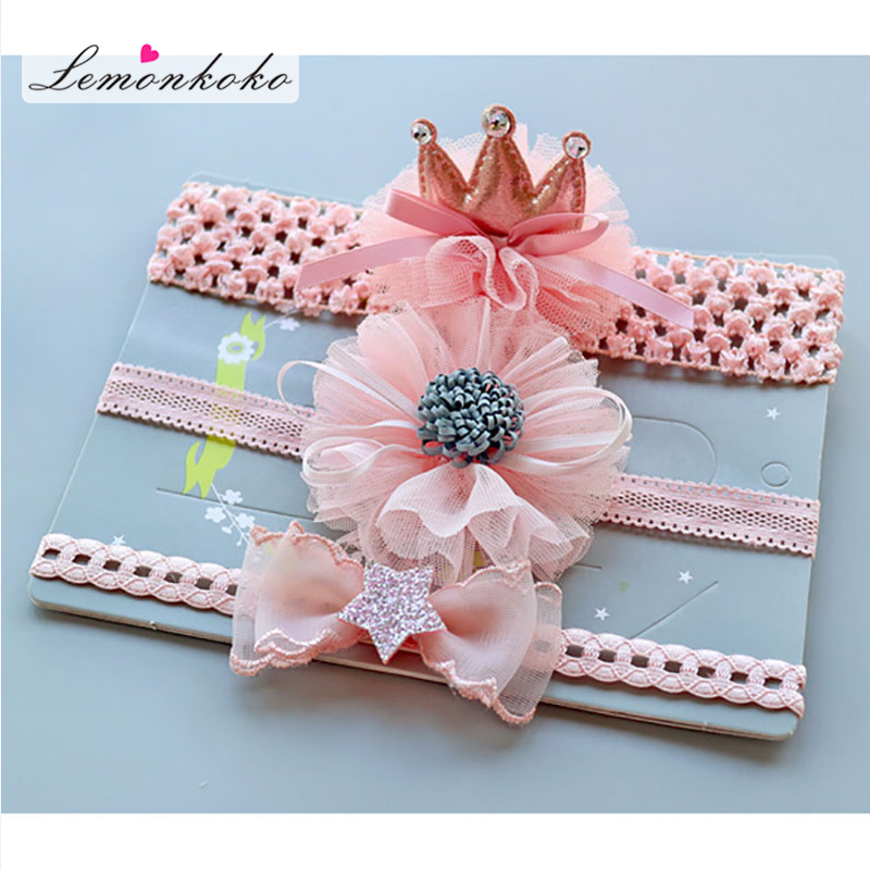 [Lemonkoko] Infant Baby Girls Headband Fashion Children Girl   Headwear   Newborn Baby Hair Bands   Headwear   Baby Hair Accessories