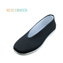 Фотография Traditional Chinese Kungfu TaiChi Men Flats Shoes Beijing Style Casual Canvas Shoes Loafers Plus Size 38-48,6-13 Men Shoe5678