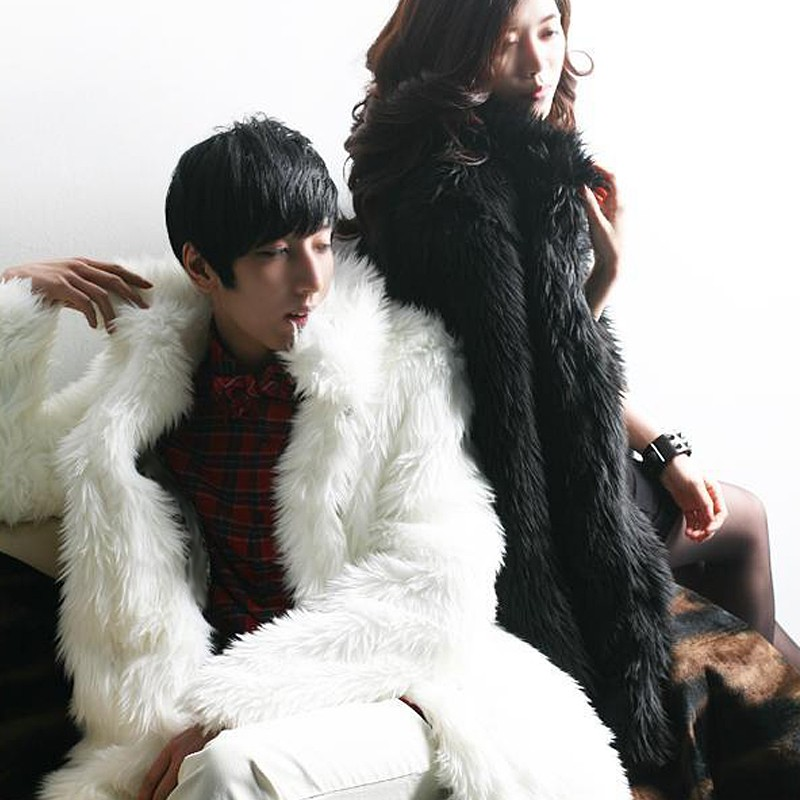 Online Get Cheap Faux Fur Coats Men -Aliexpress.com | Alibaba Group