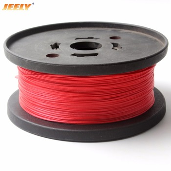 JEELY 1000M/piece 70kg uhmwpe 0.8mm 4 weave hollow braided towing winch rope