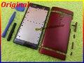 Красный Новые Оригинальные Полные Полный Крышку Корпуса Чехол + Кнопки Для Sony Ericsson Xperia ион LT28 LT28i LT28h + Инструменты Бесплатно доставка