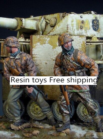 pre order-Resin toys  35027 Ambush Free shipping resin assembly kits 1 9 200mm police girl 200mm unpainted kit resin model free shipping