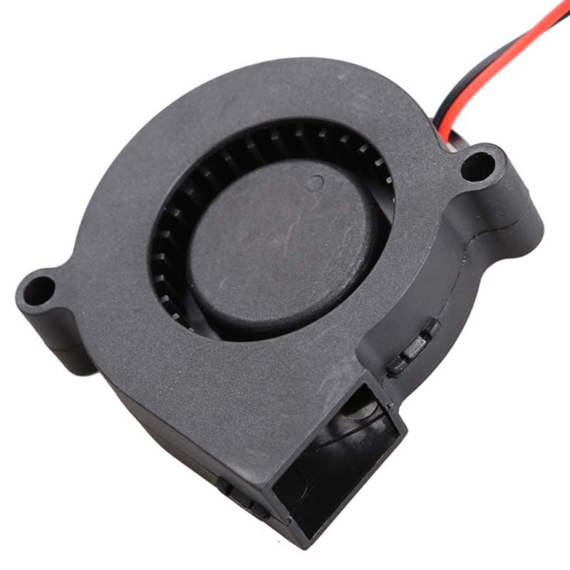 1Pcs Brushless DC Blower Fan Ultra Quiet Cooling Fan 2 Wires 5015S 12V 0.14A 50x15mm Blower