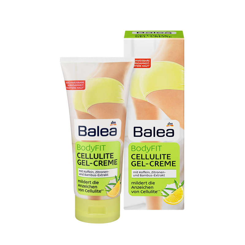 Germany Balea Bodyfit Cellulite Gel anti-cellulite Cream NoAnimal testing body massage cream Slimming Gel Skin firmer tightening пак ц pack cellulite