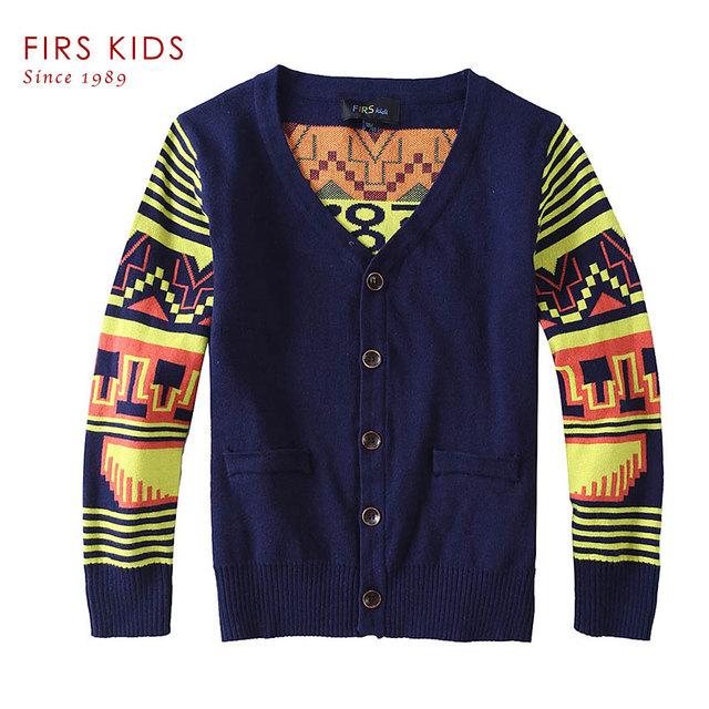 FIRS CRIANÇAS Crianças Blusas meninos Camisas do bebê de malha camisola quente 2016 Nova sping Outono Pullover Camisola fantasia roupa de crianças