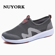 NUYORK 2017 classic style summer shoes net men for the man of casual breathable shoes low Korean male daily walks to lazybones