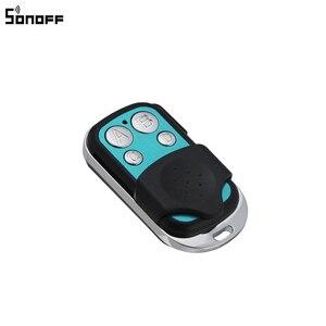 Image 2 - Sonoff 433MHz 4 ערוץ RF מרחוק בקר ABCD 4 כפתורים עבור Sonoff RF/Slampher/T1/4CH פרו R2 חשמלי מרחוק מפתח Fob שליטה