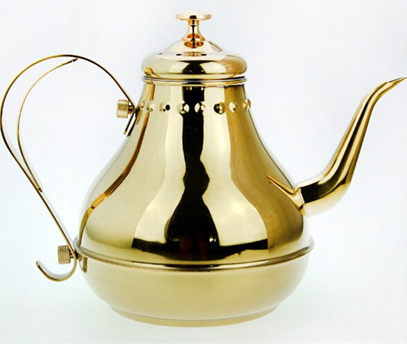1 8L Hot Sale Stainless Steel Coffee Kettle High Quality Long Mouth Design Watter Kettle Tea