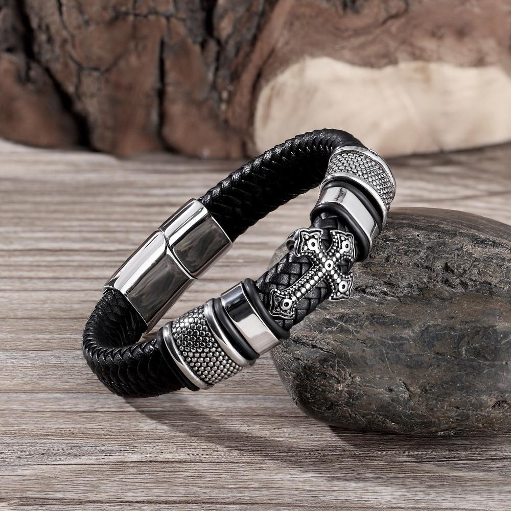 Multi-layer Leather Handmade Bracelet Bangles & Bracelets