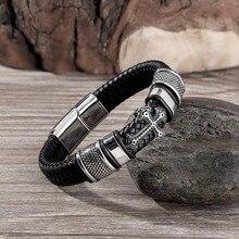 Multi-layer Handmade Leather Man Bracelets