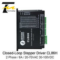 2Phase Stepper Motor Driver Leadshine CL86H CL Serial Close Loop VAC20-80V 2-8A Stepper Driver use for CNC Engraver & Cutting