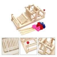 Neue Große Chinesische Traditionelle Holztisch Webstuhl Maschine Modell Hand Handwerk Spielzeug Geschenk Für Kinder Erwachsene