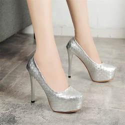 Босоножки женские летние туфли-лодочки модные лакированная кожа платформа сексуальные высокие каблуки туфли тонкий каблук открытый носок