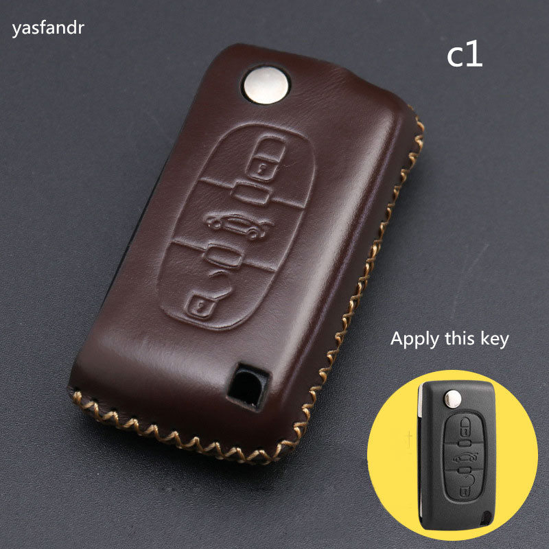 Car Accessories Key Cover Case Araba Aksesuar For Peugeot 208 207 3008 308 408 407 307 Rubber Protector Shell Remote 3 Buttons