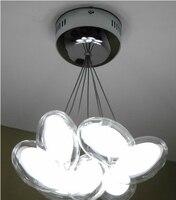 10 Lights New Modern Design Eggs Shape Double Bubble Glass Suspension Light Lighting Pendant Lamp