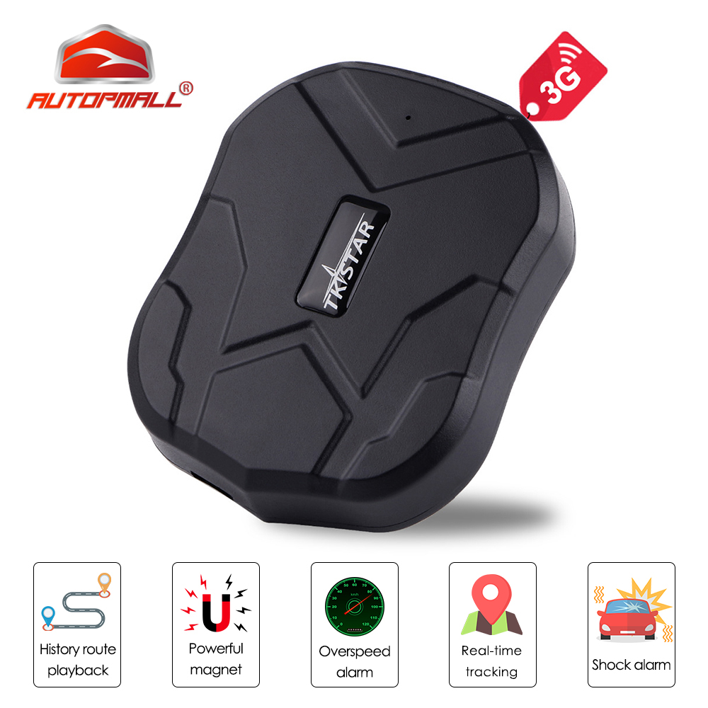 3G GPS Tracker Car TKSTAR TK905 3G 60 Days Standby Waterproof Magnetic GSM GPS Tracker Vibrate