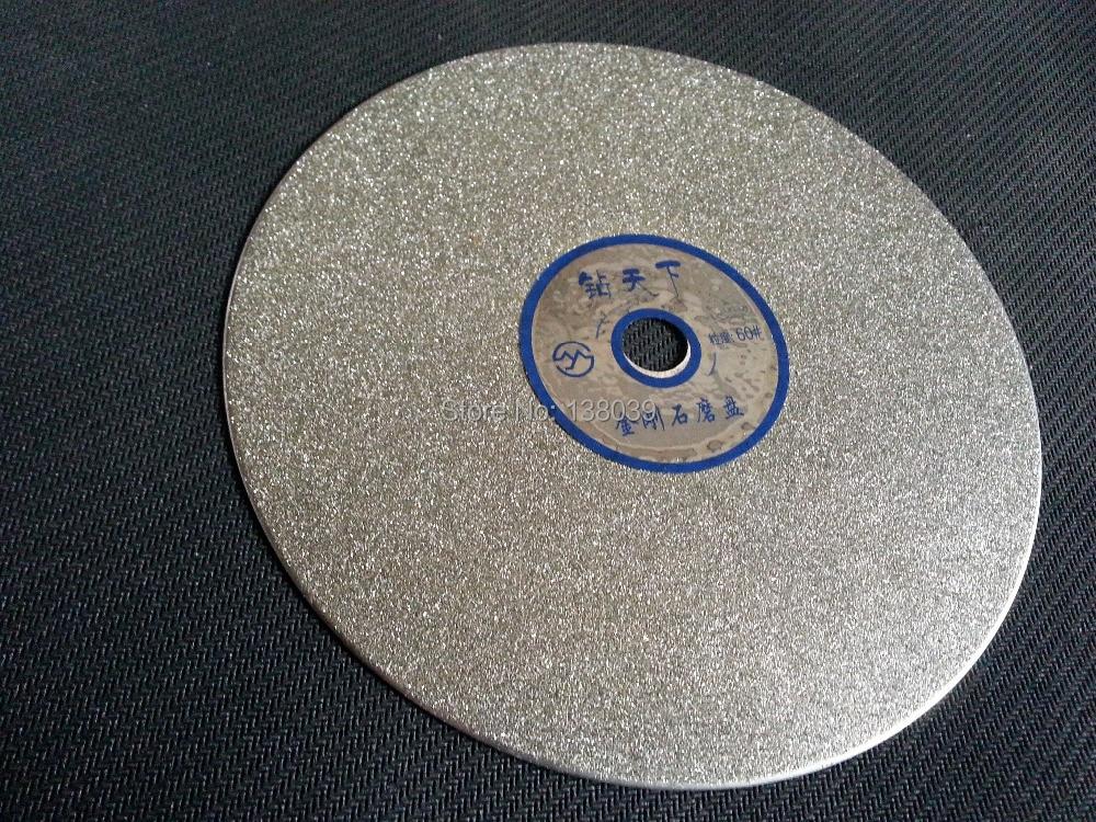 Diamond  Flat Polishing Lap Disk For Jewelry Stone , Jewel's Polishing Tools Disk Grit #60