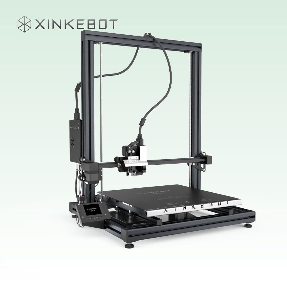 Large 3D Printer Machine with Dual Extruder Two color Printing Xinkebot ORCA2 Cygnus 3D Printer High