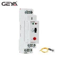 Бесплатная доставка GEYA GRB8-01 на Din рейку Сумерки переключатель фотоэлектрический таймер свет сенсор реле AC110V-240V авто вкл