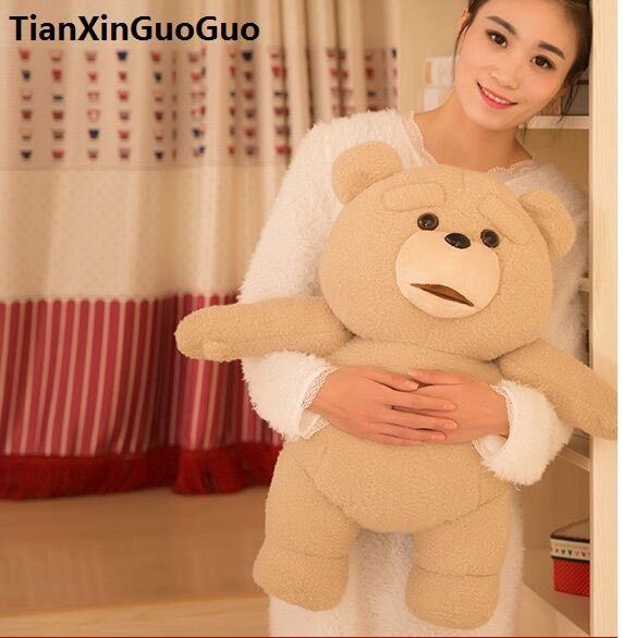 stuffed toy lovely ted bear large 55cm plush toy hug bear soft doll throw pillow Christmas gift h2048 primanova alize ёрш для унитаза