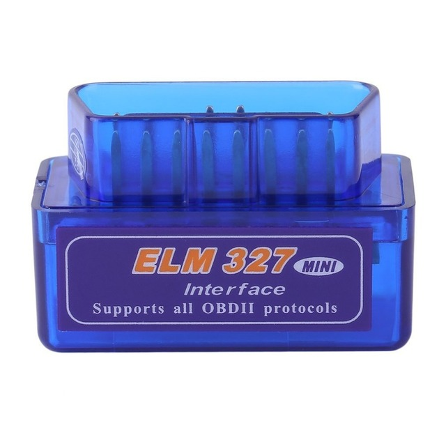 Original Mini Portable ELM327 V2.1 OBD2 II Bluetooth Diagnostic Car Auto Interface Scanner  Premium ABS Diagnostic Tool Hot