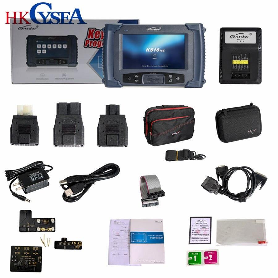 Hkcysea новые lonsdor K518ISE Ключевые программист с одометром Регулировка автомобилей диагностический инструмент для всех марок