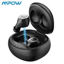 Mpow Classic T3 TWS Earphone Bluetooth 5.0 Wireless Earbuds HD Stereo Sound Headsets With Noise Cancelling Microphones