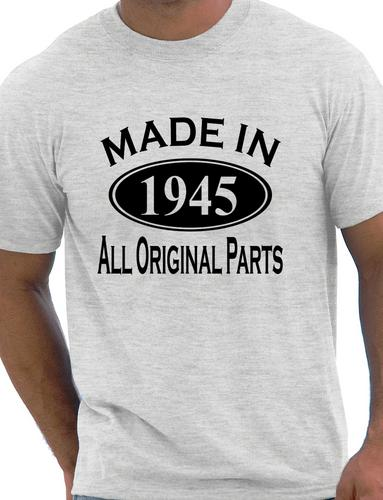Made In 1945 Mens 70th Birthday Present Gift T Shirt More Size And Colors A174 Shirts From Clothing Accessories On Aliexpress