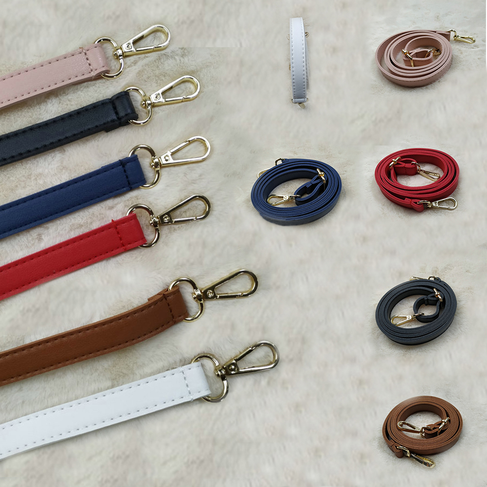 1Pc Women Adjustable Handbag Diy Pu Bag Belt New Solid Casual High Quality Bag Strap Elegant Pink Accessories For Bags Hot Sale