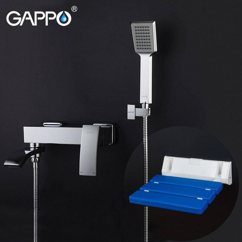 Hardwerkend Gappo Douchekranen Badkamer Kraan Mixer Bad Kranen Wandmontage Douche Zetels Douche Kruk Wc Een Grote Verscheidenheid Aan Goederen