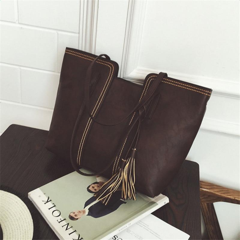 YBYT μάρκα 2018 νέα vintage casual μεγάλης - Τσάντες - Φωτογραφία 4