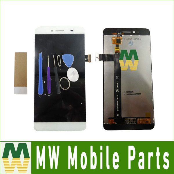 1PC / Lot 5.5 For Archos Diamond Plus LCD Display+Touch Screen Digitizer Assembly White Color with tools+tape