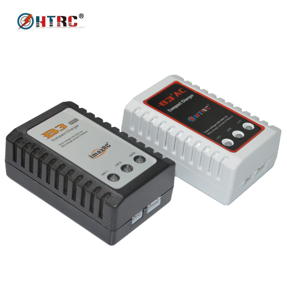 HTRC B3 AC Compact Charger Imax B3 PRO RC Balance Charger for 2s-3s LiPo Battery