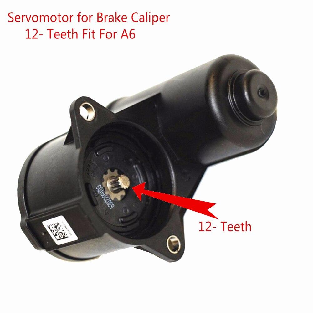 OEM 12-Teeth A6 Servomotor for Brake Caliper For VW Seat Alhambra A6 Q3 4F0 615 404 C 4F0 615 404 F 32332082 32332082G