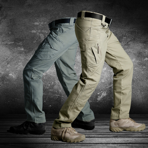 US Army Urban Tactical Pants Military Clothing Mens Casual Cargo Pants SWAT Combat  Pants Man Trousers With Multi Pocket Lahore