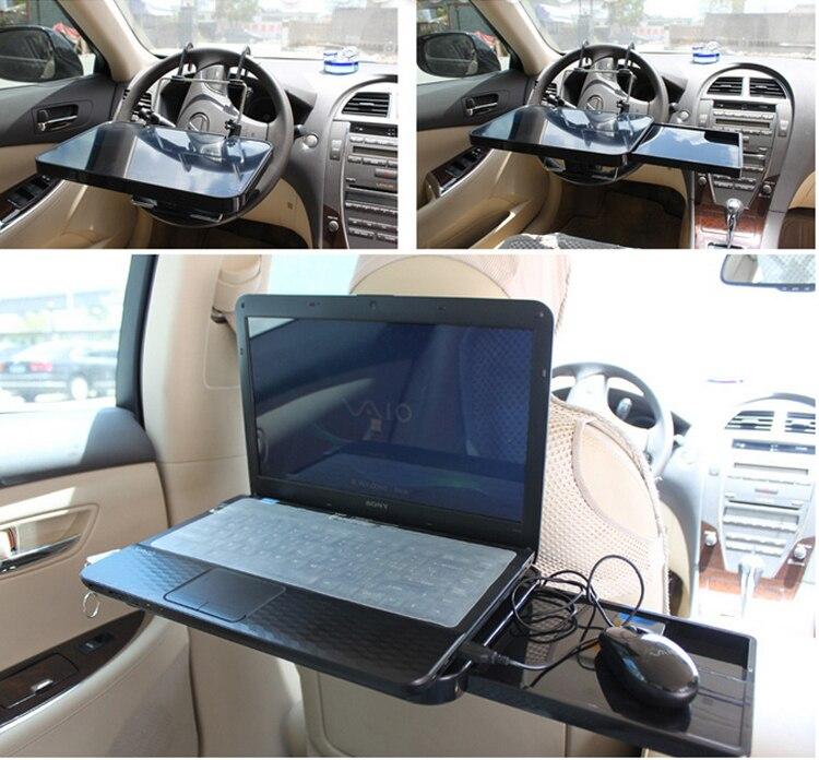 Universal Foldable Auto Truck Car Laptop Stand AirDesk Car Seat ...