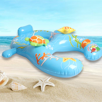 2018 Newest Safe Inflatable Mother Baby Swim Float Ring Kid Seat Double Person Swimming Pool Newborn Swimming Ring Piscina Boias