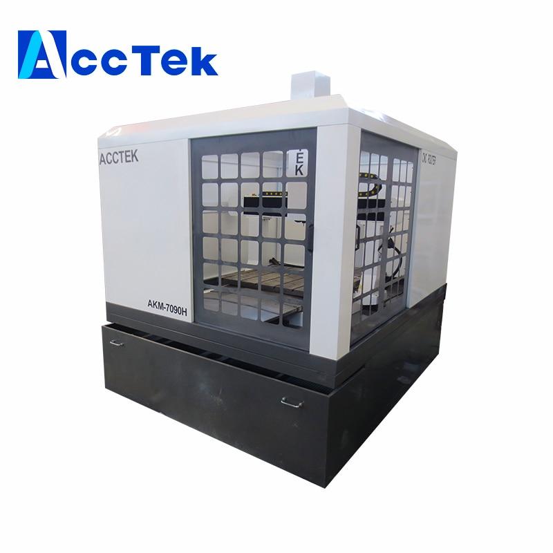 AccTek Factory Price Metal Sheet Cnc Milling Machine Cnc Tapping Machinery For Screws Cnc Metal Mold Machine