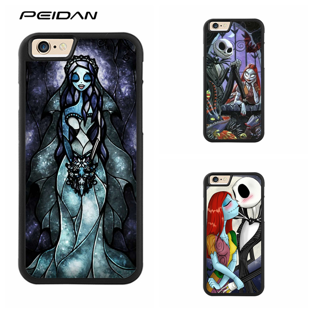 size 40 b4e62 7a63b US $4.99 |PEIDAN The Nightmare Before Christmas Sally Jack cover phone case  for iphone X 4 4s 5 5s 6 6s 7 8 6 plus 6s plus 7 plus 8 plus-in Fitted ...