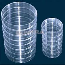 10 шт./упак. 55 мм x 15 мм лаборатории Пластик чашка Петри/прозрачный как Стекло чашка Петри лабораторное оборудование