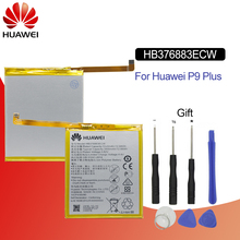 Original Battery For HUAWEI HB376883ECW 3400mAh Huawei P9 Plus VIE-AL10 VIE-L09 VIE-L29 Replacement Phone with Tools