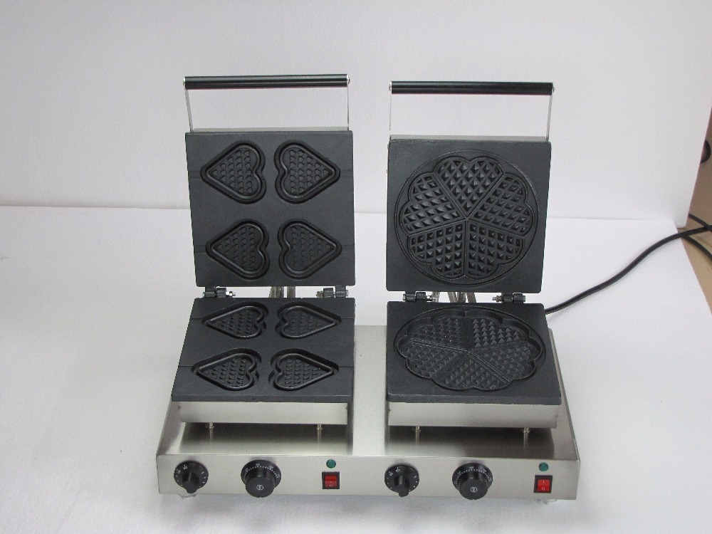 Two bakers Heart Shaped Electric  best waffle iron