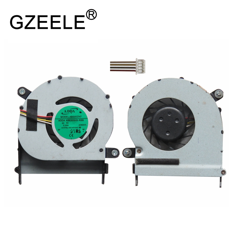 GZEELE new Laptop cpu cooling fan for ACER Aspire One 1410 1410T 1820P 1810TZ 752 1420P ZH7 cooler fan Good quality isd1420s 1420s isd1420p 1420p