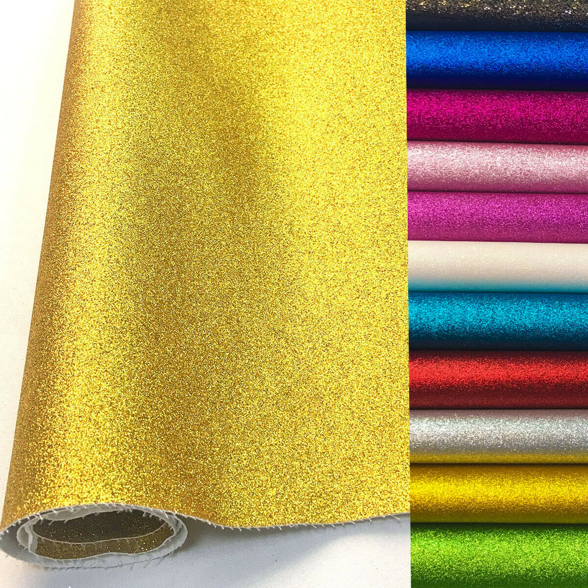 A4/20x135cm Frosted FINE Glitter Vinyl Fabric Sparkle Shiny iridescent  Faux Leather Craft DIY Material Bows Bag Decor Sheets