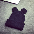 Spring Fashion Women Knitted Winter Cap Casual Beanies for Men Solid Color Hip-hop Slouch Skullies Bonnet Trendy Cap Hat Gorro