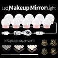 CanLing косметический светильник светодиодный голливудский зеркальный настенный светильник светодиодный Диммируемый косметический макияж т...