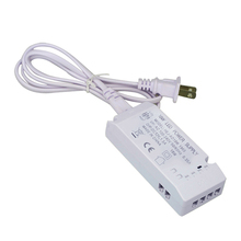 12V power adapter for LED Strip Downlights Ceiling Cabinet Light AC100-240V to DC12V power driver transformer 1 to 6 2510 plug